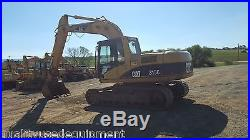 02 Caterpillar 315CL Excavator Hydraulic Diesel Tracked Hoe Steel Tracks Cab AC