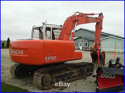 04 Hitachi 120 -5 Excavator
