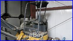 06 John Deere 27D Mini-X Excavator