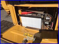 07 CATERPILLAR 303.5CCR MINI EXCAVATOR PUSH BLADE ENCLOSED CAB W A/C