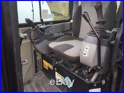 08 CATERPILLAR 303C CR MINI EXCAVATOR PUSH BLADE ENCLOSED CAB W A/C