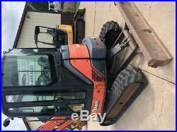 09 Hitachi 35U Mini Excavator Backhoe