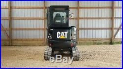 1168 Hours 1 Owner 2015 Caterpillar 303e Cr Mini Track Excavator Cat 303