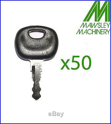 14603 IGNITION KEY, BOMAG, MANITOU, HATZ, JCBx50