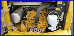 1564 Hours 1 Owner 2015 Caterpillar 303e Cr Mini Track Excavator 2 Speed Cat 303