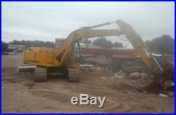 1985 John Deere 490 Wide Track Trackhoe Excavator JD