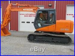 1990 Hitachi Ex100-2 Excavator