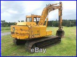 1990 John Deere 490D Hydraulic Excavator