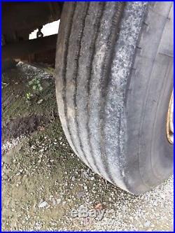 1991 Badger HYDRO-SCOPIC Wheeled Excavator 46,000 Miles