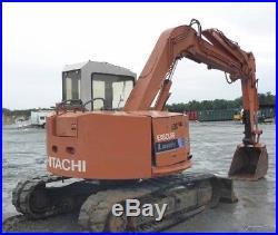 1992 Hitachi EX60URG Midi Hydraulic Excavator with Cab Coming Soon