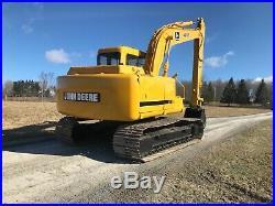 1993 John Deere 490E Hydraulic Excavator