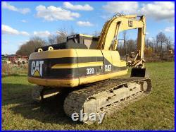 1994 Caterpillar 320L Excavator, Cab with Heat, Mechanical Thumb, VERY GOOD UC