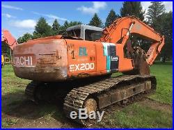 1994 Hitachi EX200-2 Hydraulic Excavator