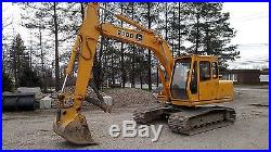 1994 John Deere 290D Hydraulic Excavator with Thumb 2nd Owner