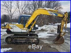 1995 Kobelco SK60-3 Excavator Rubber Tracks Thumb