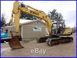 1996 Kobelco SK200LC Mark IV Excavator Cummins