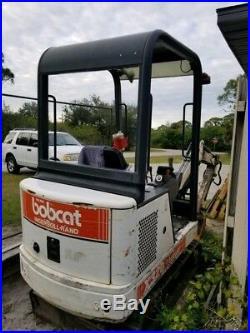 1997 Bobcat X320 Mini Hydraulic Excavator Coming Soon