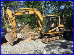 1997 Caterpillar 307 Hydraulic Midi Excavator with Cab Thumb 2800Hrs Coming Soon