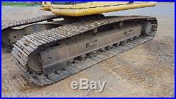 1997 Komatsu PC200LC Advance Excavator Hydraulic Diesel Tracked Hoe Steel Tracks