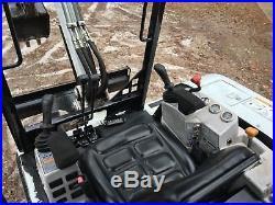 1998 Bobcat 325 Mini Excavator with HD trailer