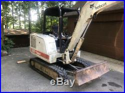 1998 Bobcat 331 Hydraulic Mini Excavator with Thumb Only 1300Hrs Coming Soon