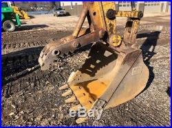 1998 Caterpillar 312B Crawler Excavator Full Cab Thumb Track Cat 312 Diesel