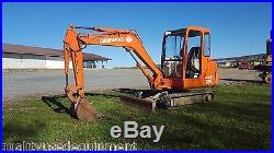 1998 Daewoo Doosan Solar 035 Mini Excavator Hydraulic Diesel Tracked Hoe Plumb