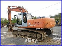 1998 Hitachi EX200 LC-5 Hydraulic Excavator Tracked Hoe Diesel Tractor Machine