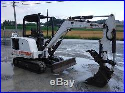1999 Bobcat 331 Mini Excavator, Canopy & Rops, Hyd Thumb, 40 HP Kubota, 2065 Hours
