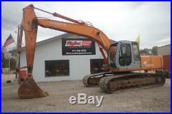 1999 Hitachi Ex200 Lc-5 Excavator 11850 Hrs 131 HP Diesel Cab Heat One Owner