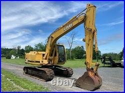 1999 John Deere 120 Hydraulic Excavator