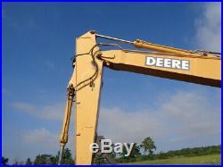 1999 John Deere 160 LC Excavator, Cab/Heat, Mechanical Thumb, 109HP, 8,438 Hours