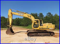 1999 John Deere 200LC Hydraulic Excavator Cab 42 Bucket bidadoo