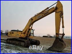 1999 Komatsu PC400LC-6 Track Excavator Tooth Bucket Removable Counterweight
