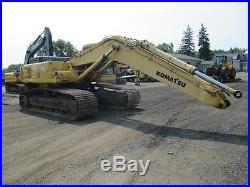1999 Komatsu PC400 LC-6 Excavator EROPS, 6 Cyl. Diesel, Krupp HB103 Hammer Drill