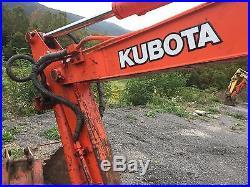 1999 Kubota KX61-2 Mini Excavator