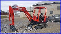1999 Kubota KX91-2 Mini Hydraulic Excavator Tracked Hoe Plumbed Blade Machinery