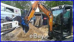 1-2 Ton Excavator Clam Grab JCB CAT KOMATSU HANIX CASE TAKEUCHI ETC