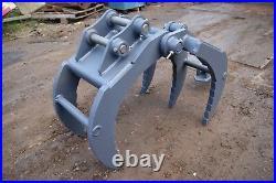 1-2 Ton Mini Digger HD Grapple. 3yr warranty Inc Vat! JCB CAT Takeuchi Case