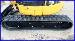 1 Owner 2012 Caterpillar 305E CR Mini Track Excavator Cab HEAT AC CAT Backhoe
