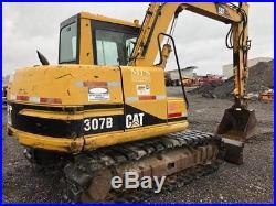 2000 Caterpillar 307B Midi Excavator with Cab