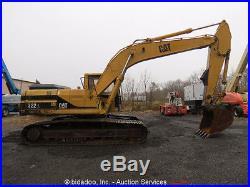 2000 Caterpillar 322L Hydraulic Excavator 9'8 Stick 48 Bucket Heated Cab