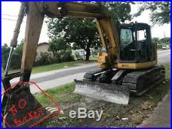 2000 komatsu PC128UU-2 excavator 28,000 lbs 1 owner FLORIDA