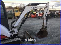 2001 Bobcat 334D Hydraulic Mini Excavator with Cab