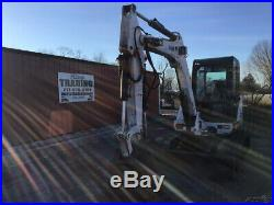 2001 Bobcat 337D Hydraulic Mini Excavator with Cab Hydraulic Thumb