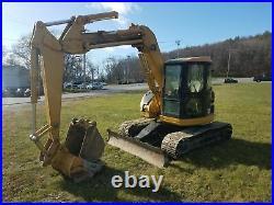 2001 Caterpillar 308B SR Excavator Coupler with 2 Buckets Heat & A/C