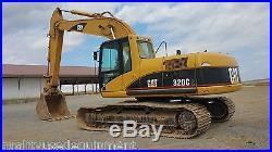 2001 Caterpillar 320CL Excavator Hydraulic Diesel Tracked Hoe EROPS Coupler