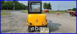 2001 JCB 803 Plus Mini Excavator. 2443 Hours. Just Serviced! Ready For Work
