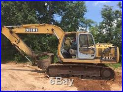 2001 John Deere 160LC Excavator 16 Ton Size Low Hour Nice! Cat Komatsu