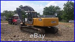 2001 John Deere 200 LC Excavator Hydraulic Tracked Hoe Hitachi Cat Link Belt